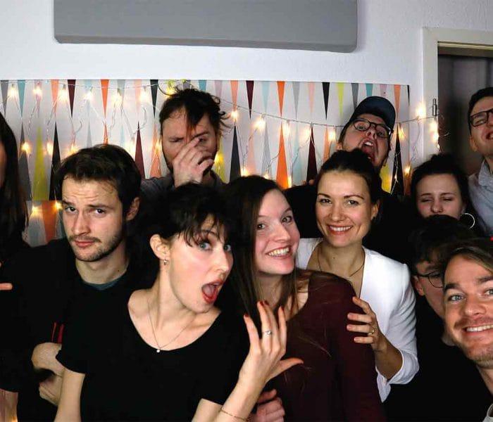 praktikum filmproduktion team